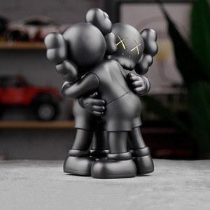 Popular 26CM 1.2KG Originalfake KAWS Companion detachable and Embrace the style for Original Box KAWS Action Figure model decorations gift