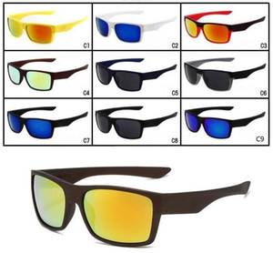 ingrosso i colori degli occhiali da sole misti-MOQ Brand New Fashion Bicycle Bicycle Glasses Outdoor Sport Due occhiali da sole con occhiali da sole Google Glasses Colors