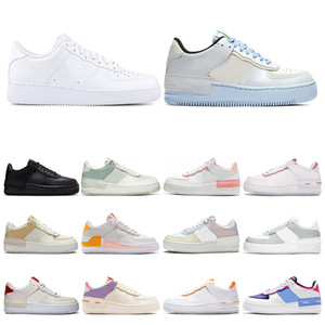 Wholesale unicorn gold for sale - Group buy 2020 New Men Women platform shoes Casual Shoes triple black White aurora pale ivory volt unicorn Skateboard women sneakers size
