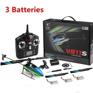 Wholesale flybarless helicopter for sale - Group buy WLtoys V911S G CH Aixs Gyroscope Flybarless RC Helicopter RTF Outdoor Model Toys w V MAh Lipo Battery
