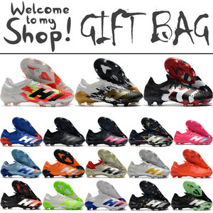 Wholesale high quality soccer cleats for sale - Group buy New Predator Mutator FG Low Soccer Football Boots Shoes For Mens High Quality Outdoor Trainers Leather Football Soccer Cleats