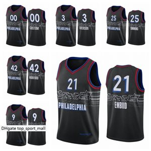 Wholesale dwight howard resale online - City Basketball Edition Danny Green Jersey Tyrese Maxey Dwight Howard Tony Bradley Seth Curry Joel Embiid Ben Simmons