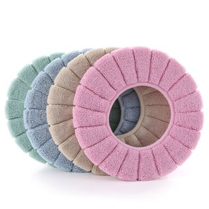 Wholesale washable cushion covers resale online - Thickening Cushion Elastic Force Currency Knitting Washable Mat U Shaped Toilet Accessories Seat Cover Autumn Winter cy K2