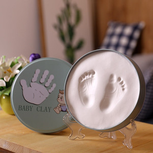 Wholesale photos frames for sale - Group buy Hand and Foot Music Newborn Baby Hand and Foot Print Mud Photo Frame Hand and Foot Print Souvenirs