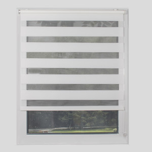Wholesale roller blinds resale online - No Drill Mini Roller Blinds Semi blackout Zebra Blinds Polyester for Living Room for small window shades can Customized Size T200718