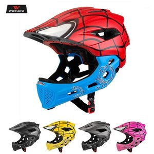 Wholesale children motorcycle for sale - Group buy 5 Age Children Motocross Helmet Motorcycle Kids Boy Girl Helmets Full Face Motorbike MOTO Safety Headpiece Skate Helmet1