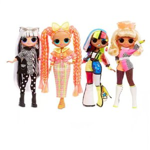 Wholesale lol dolls resale online - New lol surprise doll blind box doll toy new OMG doll fashion girls toys for children dolls toys for girls Y0112