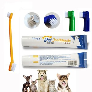 Wholesale best toothpastes resale online - Healthy Edible Small Dog Cats Mouth Teeth Cleaning and Supplies Taste Best Pet Dental Care Toothpaste