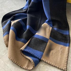 7 Colors Thicken Unisex Blankets Fashion Letter Designer Men Women Shawls Indoor Outdoor Warm Charm Lover Blanket