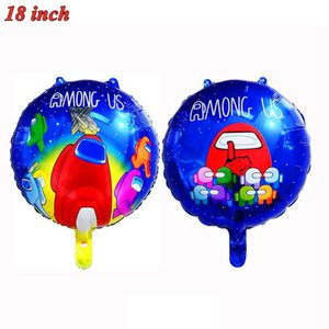 baby spiele großhandel-Cartoon Spiel zwischen den US Folienballons Baby Dusche Jungen aufblasbare Helium Globos Kinder Happy Birthday Party Dekorationen Bälle stücke GWE4179