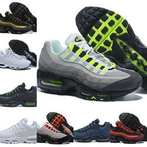 Wholesale sneakers sole lights resale online - Cheap Ultra OG X th Anniversary Mens Running Sports Shoes New Airs Cushion Black Sole Grey Blue Designers Trainers Outdoor Sneakers G562