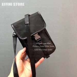 Wholesale bag vertical resale online - mobile phone bag luxurys designers men messenger bags vertical nylon with leather men s casual mini crossbody bag small bag