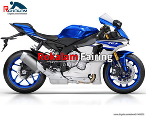 Wholesale r1 kit motorbike resale online - For Yamaha YZF R1 YZF YZFR1 YZF R1 Blue Aftermarket Motorbike Fairing Kits Injection Molding