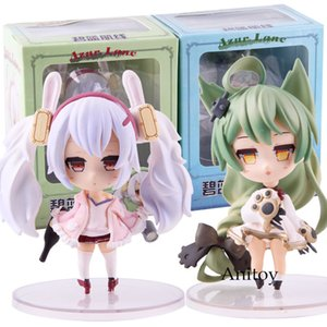 Wholesale azur lane resale online - Game Azur Lane SD Lafie Akashi Q Cute Version PVC Action Figure Collectible Model Toy T191109