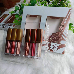 Dropshipping New Hot Eye For Elegance set Shimmer Glitter Liquid EyeShadow Travel Set makeup Glow Eye