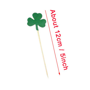 ingrosso cappelli da topper-St Patrick s Day Cake Toppers Irish Carnival Party Decoration Green Clover Hat Cat Topper Decorations Forniture all ingrosso EEF4918