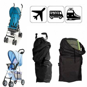 Wholesale children gates for sale - Group buy Baby Infant Child Gate Check Umbrella Standard Double Stroller Pram Pushchair Travel Bag Baby Carriage By Cover High1