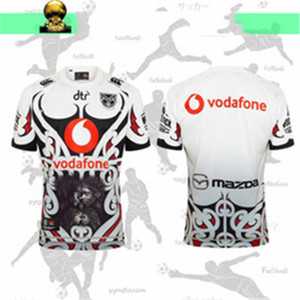 ingrosso coniglio s-Nuovo Zealand Rugby Jersey Guerriero Cavallo Cowboy Rabbit Hummel Great British Lions Lions Tullus Rugby Shirt S XL