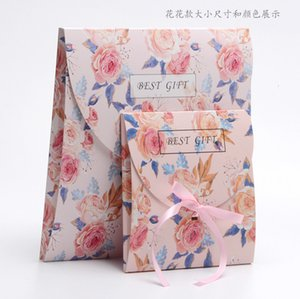 Wholesale scarves world resale online - High end atmosphere silk scarf world box red bag green gif R6PA