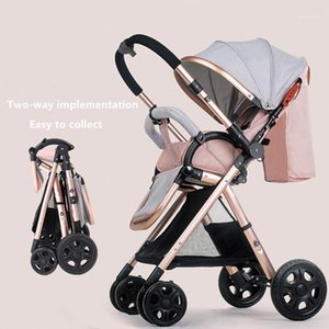 Wholesale umbrella trolley baby for sale - Group buy Fast ship portable baby stroller baby child trolley suspension folding umbrella car pocket bike kg1