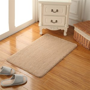 Wholesale high quality bath rugs for sale - Group buy High Quality Bath Mat Bathroom carpet rug Non slip Mats Carpet Rug Feet Soft Microfiber Bathroom Mat kitchen Bedroom Door Floor