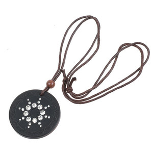Wholesale quantum energy pendants for sale - Group buy New Quantum Science Pendant Necklace Volcanic Stone Scalar Energy Men Women Crystal Negative Ions Pendant Japanese Technology
