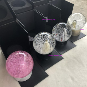 Wholesale gold globe for sale - Group buy new C Collection Snow bottle aniversary theme VIP Globe Special Gift Novelty Limited gift Customer for decorate with box