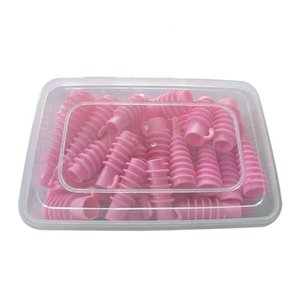 Wholesale set hair curls roller resale online - 30Pcs Set Hair Spiral Curls Professional Newest Hair Curly DIY Styling Accessory Salon Hair Rollers Plastic Spiral Perm Rods Sizes