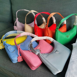 Wholesale ladies crossbody bags resale online - 2020 High quality reedition Designer tote Shoulder Bags duffle Nylon leather bag famous Handbags Lady wallet Crossbody bag wallet Hobo