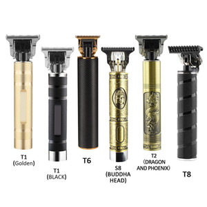Wholesale trimmer for hair cutting resale online - Rechargeable Hair Clipper Cut Hair T Outliner Barber Shaving Machine Vintage Cordless Cutter Shaver Razor Trimmer for Men Hair
