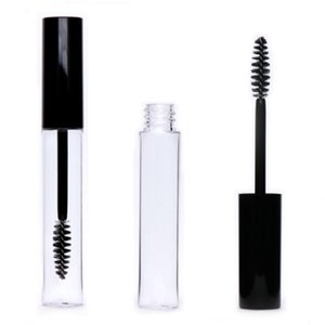Wholesale clear mascara resale online - 10ML Empty Mascara Bottle Container Tube With Eyelash Wand Brush Round Eyelash Bottles Clear Empty Mascara Packing Bottles GWD3574