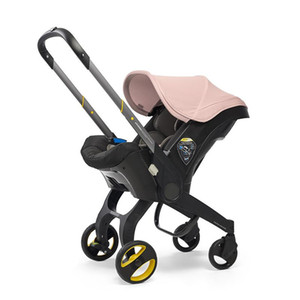 Baby Stroller 4 In 1 Travel Guggy Baby Foldable Portable Jogging Pram Newborn Carriage