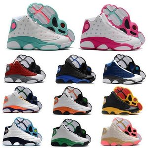 Wholesale woman tenis shoes for sale - Group buy Jumpman s Flint Men Women Basketball Shoes Sneakers Playground Hyper Royal Aurora Lucky Green Starfish Red Flight Trainers Tenis Shoes