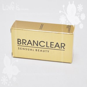fast delivery hot sale branclear 3 Tone contact lenses box 100pc =50pair Contact lens cases
