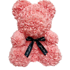 Wholesale girlfriends birthday gift rose for sale - Group buy RTS cm Rose Teddy Bear with Gift box Christmas Wedding Present For Girlfriend Birthday