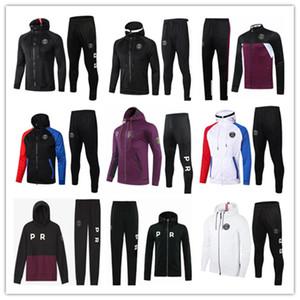 2020 2021 paris jacket hoodie Survetement 2020 21 paris chandal futbol MBAPPE football jacket 20 21 soccer TRACKSUIT