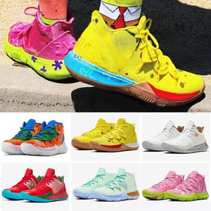 ingrosso nuove sneakers kyrie -Nuovi Mens Kyrie Shoes TV PE Scarpe da basket per Annovenza anniversario Spugna X Irving s Pineapple House Womens Sunsens Sneakers
