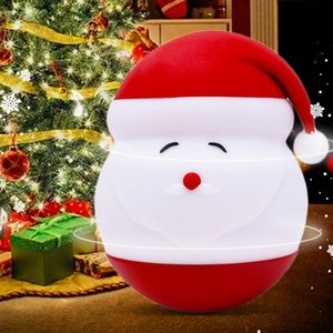 Wholesale cute room decor for sale - Group buy Cute Santas Decorative Table Lamp Night Light Led Lights Room Lighting Bedroom Decor Kids Room Decoration Luminaria Lovely Gift HWF3453