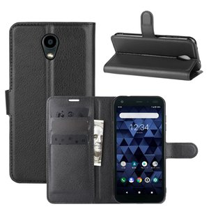 Wholesale bx resale online - Leather Wallet Case for Kyocera Basio KYV47 KYV43 Flip cover for Kyocera S6 KYV48 KYV44 KC DIGNO BX URBANO V04 Shell Kickstand