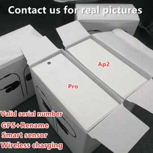 10pcs Free shipping Airoha anc 1536 chip air2 ap2 ap3 pro noise reduction Rename GPS Gen 3 pods Bluetooth sports earphones Wireless Charging