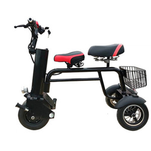 Wholesale three wheeled motorcycles for sale - Group buy New Electric Motorcycle Scooter Three Wheel Electric Scooters W V Wheel Electric Scooter with Seats for Adult
