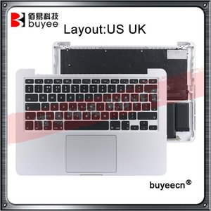 ingrosso trackpad del computer portatile-BATTERIORE NUOVO A1502 ORIGINALE NUOVO A1502 TOPLACK US UK TRACKPAD BATTERY per Retina Pro A1502 Laptop Top case1