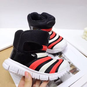 Wholesale caterpillars shoes resale online - 2021 The caterpillar High winter boots free run Children Running shoes boy girl youth kid sport air Sneaker size