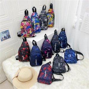 Women Men Fany Pack Letters Print Crossbody Bag Purses Belt Waist Pack Unisex Chest Bag Zipper Fashion One Shoulder Bags 12 Colors C102102