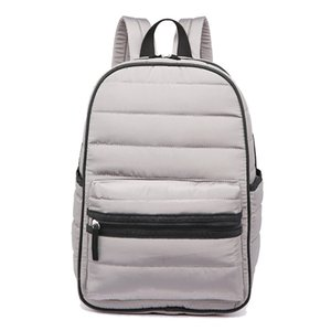 Wholesale material girls resale online - Backpack women space down cotton travel backpack school bags for girls teenagers and ladies bag fashion special down material