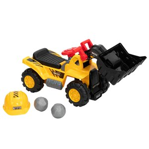 Wholesale toys ride ons resale online - Kids Ride on Bulldozer Children s Toy Car with Two Plastic Simulation Stones and A Hat Without Power