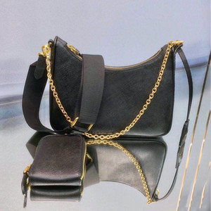 Wholesale cowhide genuine leather resale online - Genuine leather handbag hobo crossbody bag shoulder bag for women fashion bags lady chains handbags cowhide hobo chain purse messenger bag