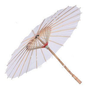 Wholesale umbrellas for sale - Group buy Cheapest Chinese Japanesepaper Parasol Paper Umbrella For Wedding Bridesmaids Party Favors Summer Sun Shade Kid Size G2