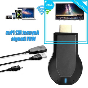 Wholesale hdmi electronics for sale - Group buy HDMI TV stick WiFi screen receiver wireless electronic key M2 plus miracat airport DLNA for IOS Android and PC