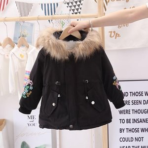 Wholesale girl's jacket for sale - Group buy Girl Jacket The New Kids Warm Toddler Children s Winter Girl s Cotton Padded Clothes Baby s Thickened Cotton Padded Coat Q1126